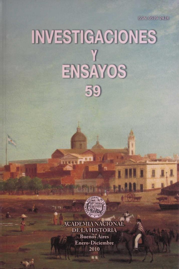 Ver Núm. 59 (2012): Investigaciones y Ensayos