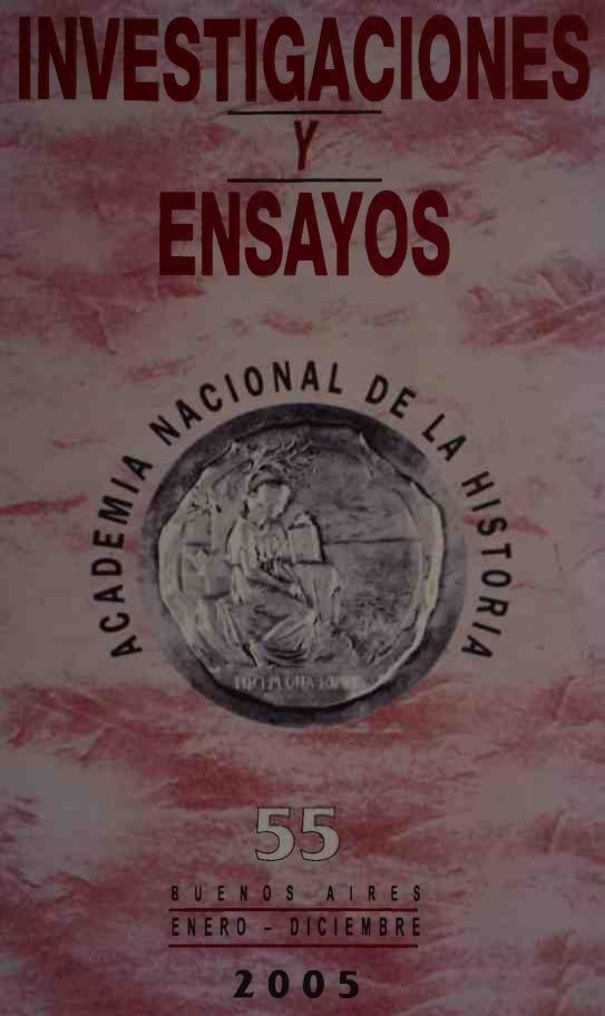 Ver Núm. 55 (2005): Investigaciones y Ensayos