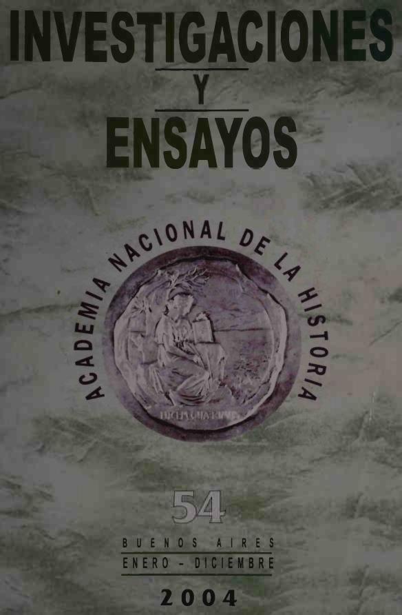Ver Núm. 54 (2004): Investigaciones y Ensayos