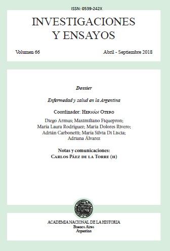 Ver Núm. 66 (2018): Investigaciones y ensayos