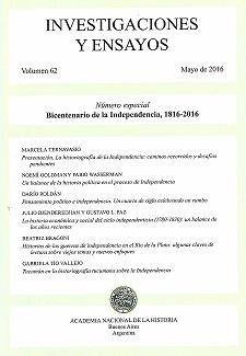 Ver Núm. 62 (2016): Investigaciones y Ensayos